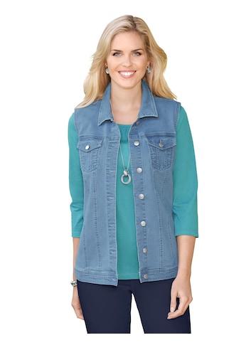 Classic Basics Jeans - Weste mit Hemdkragen kaufen