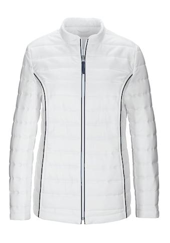 Classic Basics Jacke in horizontaler Stepp - Optik kaufen