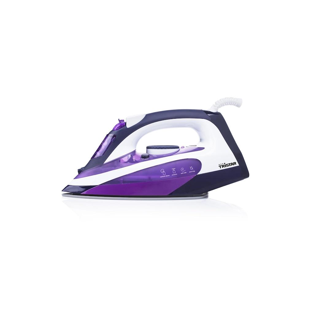 Tristar Dampfbügeleisen »Violett«, 2200 W