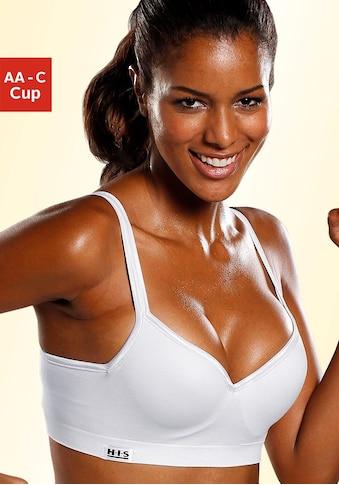 H.I.S Sport-BH, mit eingearbeiteten Push-up-Kissen, geeignet für Sportarten mit... kaufen