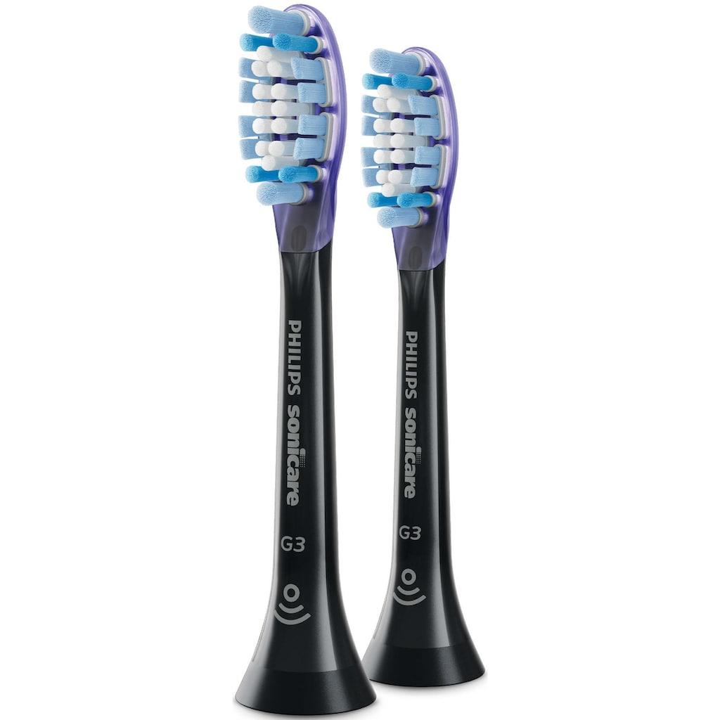 Philips Sonicare Aufsteckbürsten »HX9052/33 Premium Gum Care«, besonders weiche Borsten