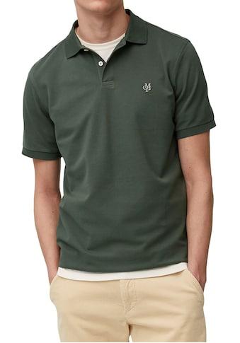 Marc O'Polo Poloshirt, mit elastischen Ärmelabschlüssen kaufen