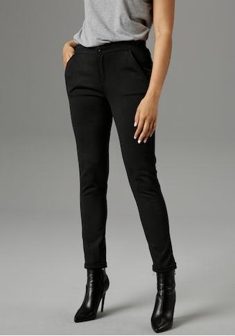 Aniston SELECTED Jerseyhose, mit bequemem Gummizug - NEUE KOLLEKTION kaufen
