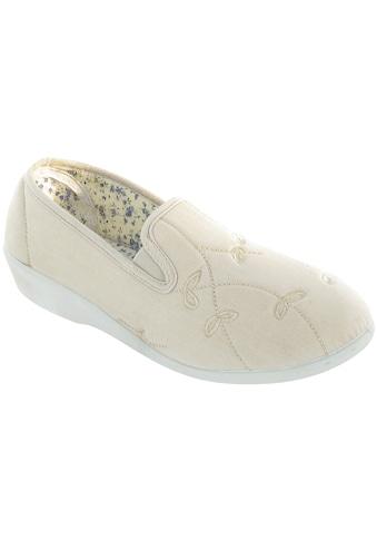 Mirak Hausschuh »Bessie Damen Leinen Schlappen / Damen Schuhe« kaufen