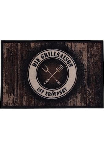 Andiamo Fussmatte »BBQ Grillsaison«, rechteckig, 3 mm Höhe, Schmutzfangmatte,... kaufen