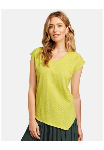 GERRY WEBER Kurzarmshirt »Shirt mit Linedessin« kaufen