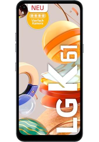 """LG Smartphone »K61«, (16,5 cm/6,53 """", 128 GB, 48 MP Kamera) kaufen"""