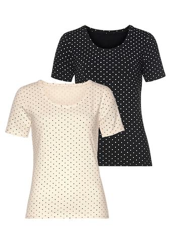 Vivance T-Shirt, aus elastischer Baumwoll-Qualität kaufen