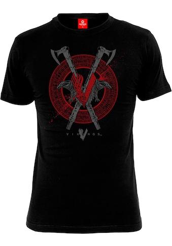 Nastrovje Potsdam T - Shirt »Vikings Axe & Raven« kaufen