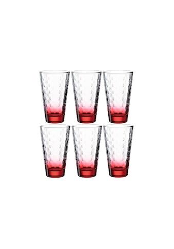 LEONARDO Glas »Optic 300 ml«, (6 tlg.) kaufen