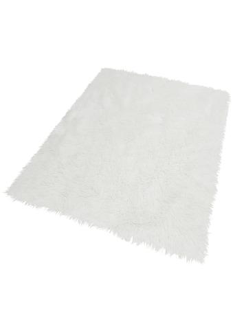 Hochflor - Teppich, »Dena«, Home affaire, rechteckig, Höhe 60 mm, maschinell getuftet kaufen