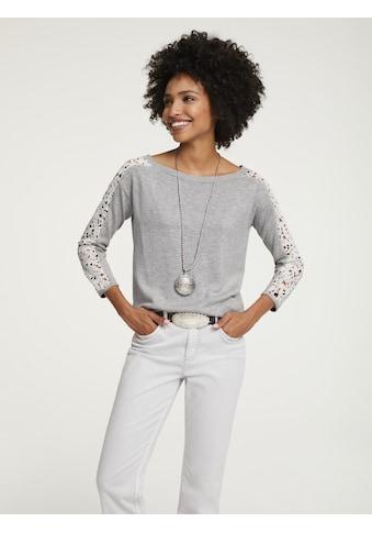 LINEA TESINI by Heine 3/4 Arm-Pullover, mit Spitze kaufen