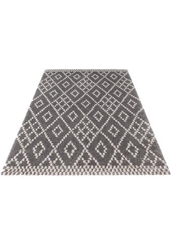 MINT RUGS Hochflor-Teppich »Chess«, rechteckig, 35 mm Höhe, Wohnzimmer kaufen