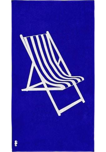 Seahorse Strandtuch »Take a seat«, (1 St.), mit Liegestuhl kaufen