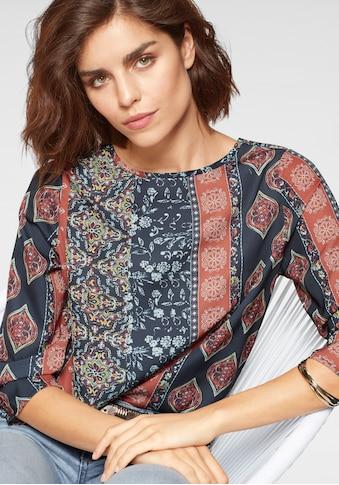 Tamaris Shirtbluse, mit ausdrucksstarkem Print kaufen