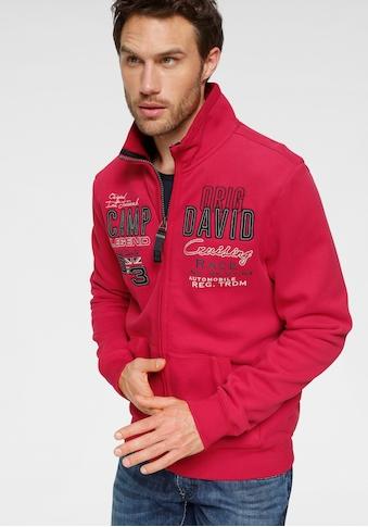 CAMP DAVID Sweatshirt, mit grossem Frontlogo kaufen
