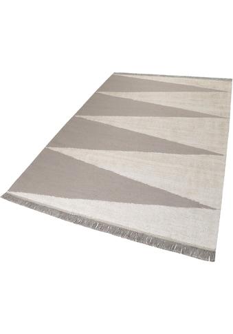 carpets&co Teppich »Smart Triangle«, rechteckig, 5 mm Höhe, Wohnzimmer kaufen