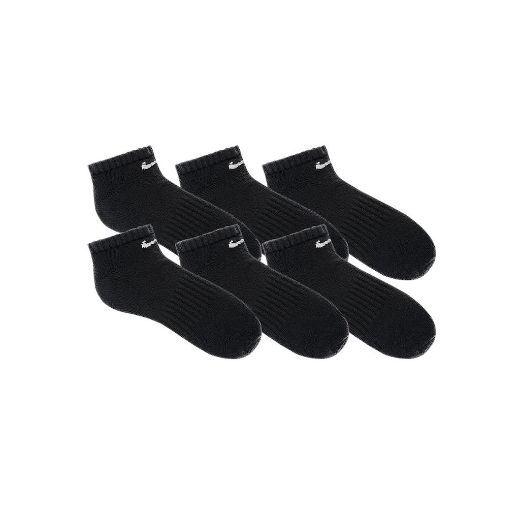 Nike Sneakersocken, (6 Paar), mit Mittelfussgummi