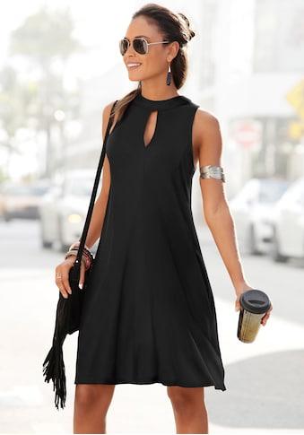 LASCANA Jerseykleid, in weit schwingender Form kaufen