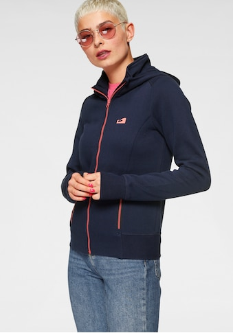 Ocean Sportswear Kapuzensweatjacke, mit kontrastfarbenen Reissverschlüssen kaufen