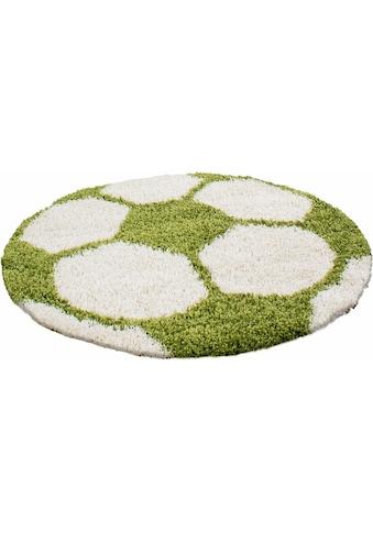 Kinderteppich, »Fun 6001«, Ayyildiz, rund, Höhe 30 mm, maschinell gewebt kaufen