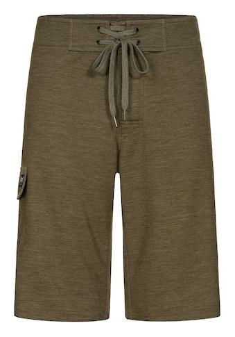 SUPER.NATURAL Shorts »M ALL DAY SHORTS«, mit coolem Backprint und praktischer... kaufen