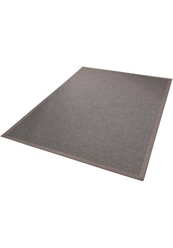 Dekowe Teppich »Naturana Panama, Wunschmass«, rechteckig, 8 mm Höhe, Sisal-Optik, mit Bordüre, Wohnzimmer kaufen