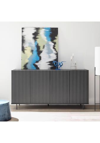 LC Sideboard »Charme«, mit Siebdruck »Streifen« kaufen