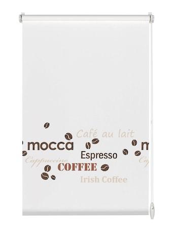 GARDINIA Seitenzugrollo »EASYFIX Rollo Dekor Coffee«, Lichtschutz, ohne Bohren, im Fixmass kaufen