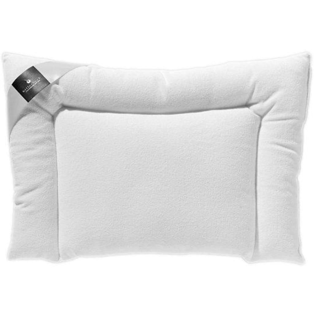 billerbeck Kunstfaserkopfkissen »CLIVIA«, Füllung: 100% Polyester, Airsoft clean®, Bezug: 100% Polyester, Microfaser-Gewebe, (1 St.)