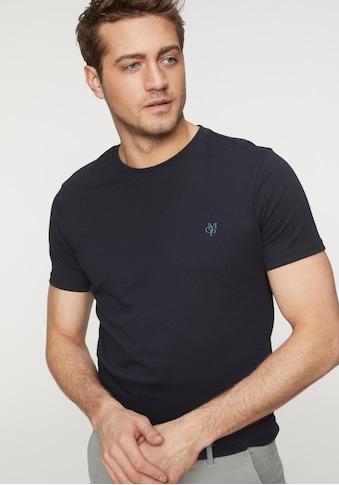 Marc O'Polo T-Shirt, Ideal zum Unterziehen, Rundhalsausschnitt kaufen