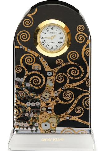 """Goebel Tischuhr »Artis Orbis  -  Gustav Klimt  -  """"Der Lebensbaum"""", 66522531« kaufen"""