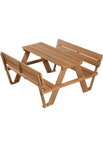 roba® Kindersitzgruppe »Picknick for 4 Outdoor Deluxe, Teakholz« (Set, 1 - tlg) kaufen