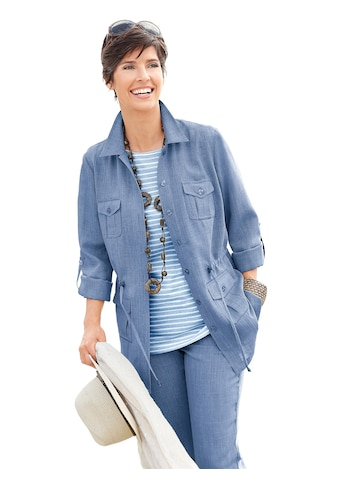 Casual Looks Blusenjacke in Leinen - Optik acheter