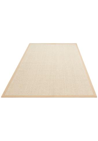 Home affaire Teppich »Sumati«, rechteckig, 6 mm Höhe, Echt Sisal, Wohnzimmer kaufen