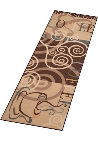 Küchenläufer, »Coffee Ornament«, Zala Living, rechteckig, Höhe 8 mm, maschinell getuftet kaufen