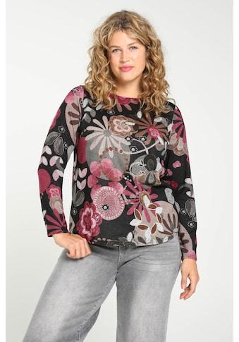 Paprika Print-Shirt »bunt bedruckt«, aus warmen Material kaufen