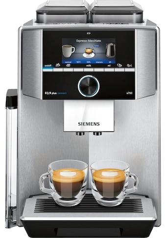 SIEMENS Kaffeevollautomat »TI9578X1DE EQ.9 plus connect s700«, 1500W kaufen