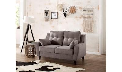 Home affaire 2-Sitzer »Dione«, mit Massivholz Füssen kaufen