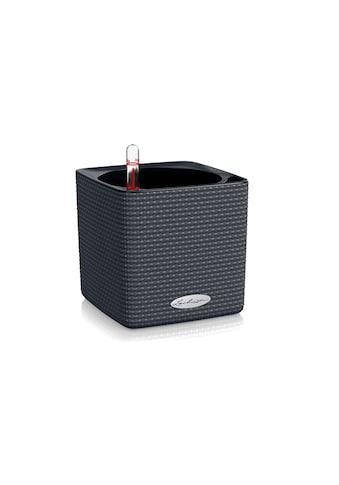 Blumentopf, Lechuza, »Cube Color 14 Grau« kaufen