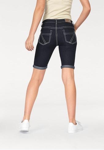 Arizona Jeansbermudas »Kontrastnähte«, Mid Waist kaufen