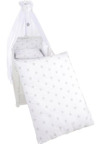 roba® Himmelbettgarnitur »Little Stars«, 4tlg., mit Bettwäsche, Nestchen und Himmel kaufen