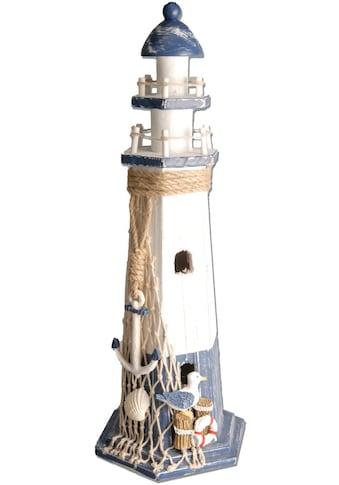 Heim INTERIOR & SEASONAL DESIGN Wanddekoobjekt, Leuchtturm, maritim kaufen