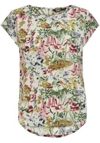 ONLY CARMAKOMA Klassische Bluse, mit Rundhalsaussschnitt kaufen