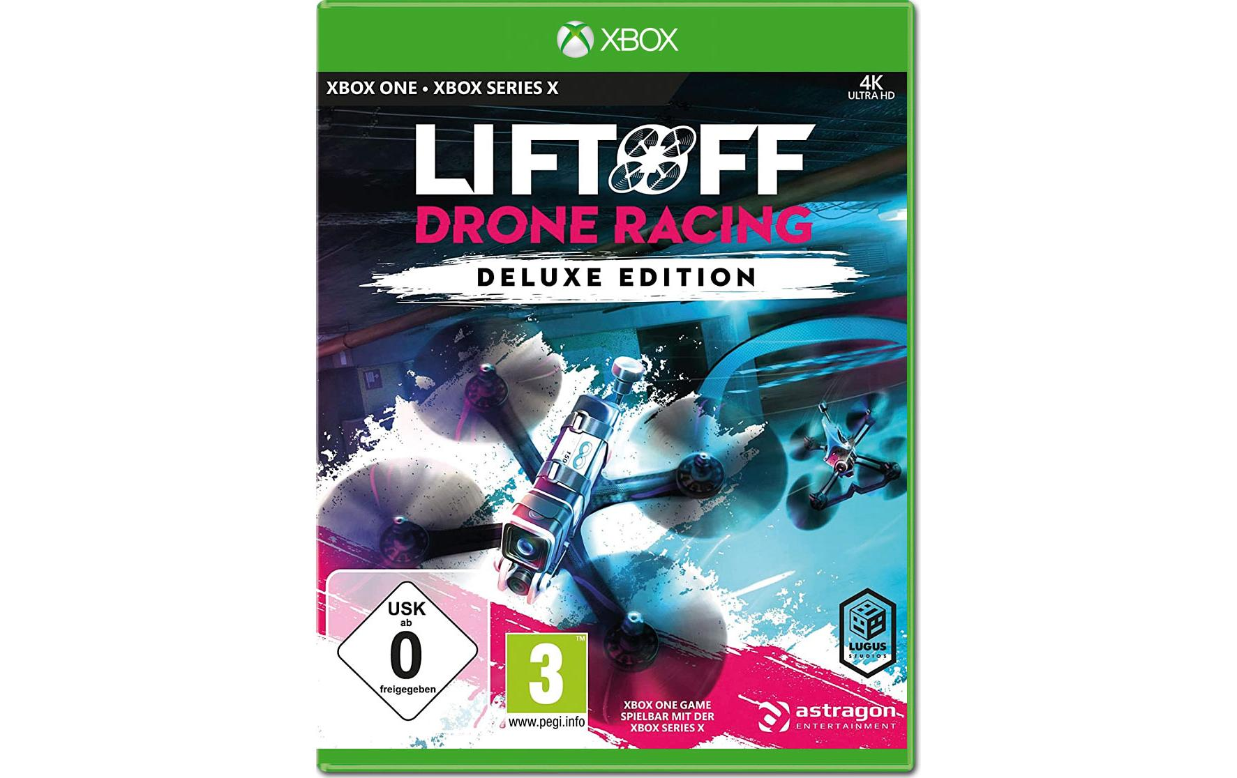 Image of Astragon Spiel »LiftOff: Drone Racing Deluxe Edition«, PlayStation 4