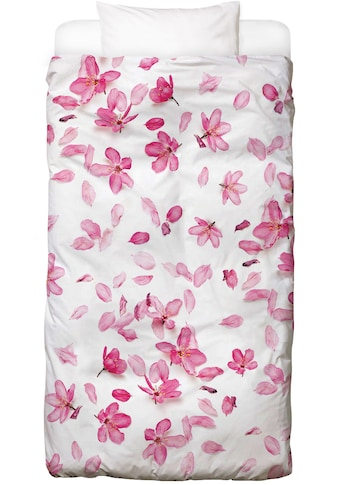 Juniqe Bettwäsche »Blossom Fall«, In vielen weiteren Designs erhältlich kaufen