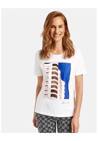 GERRY WEBER Kurzarmshirt »Shirt mit Frontdruck« kaufen