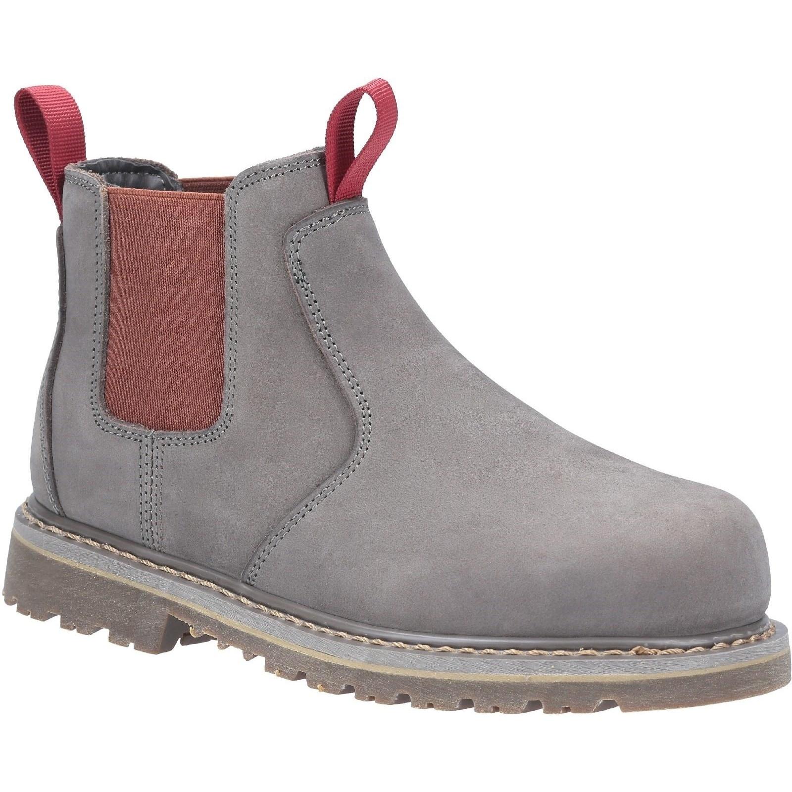 Image of Amblers Safety Arbeitsschuh »Damen AS106 Sarah Slip On Leder Safety Stiefel«