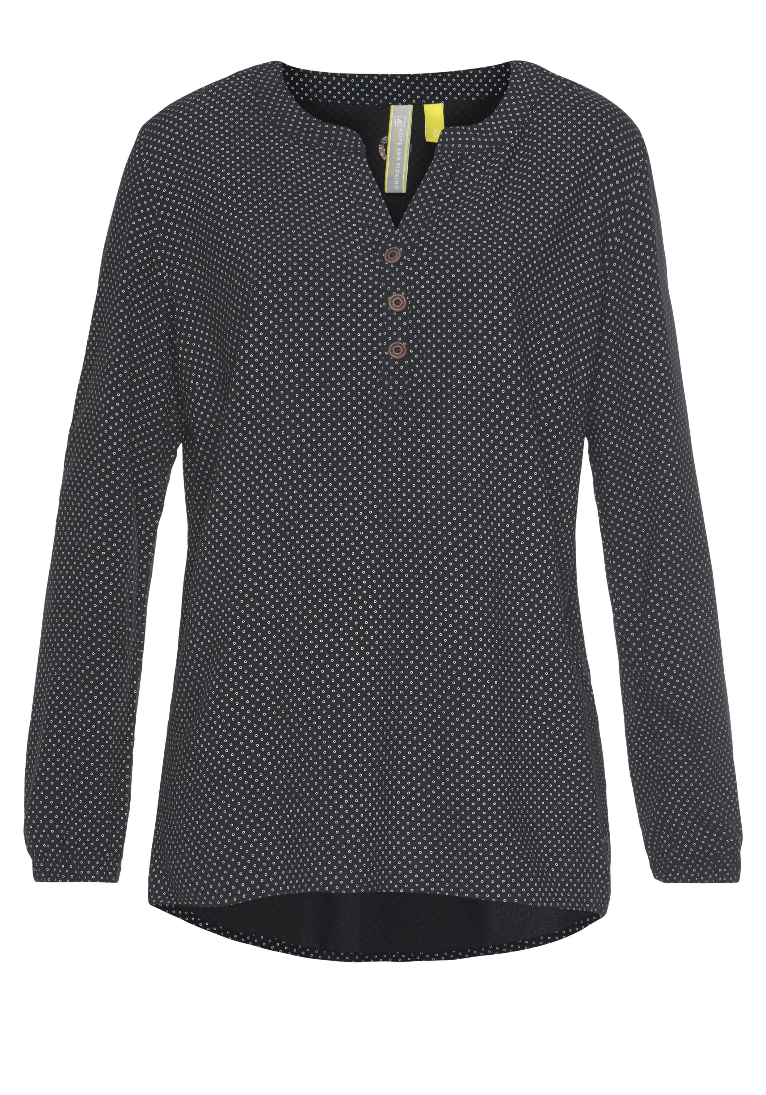 Image of Alife & Kickin Druckbluse »DaisyAK«, süsse Bluse aus reiner Viskose mit Allover-Print