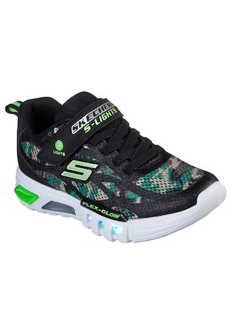 Skechers Kids Sneaker »Blinkschuh FLEX - GLOW« kaufen